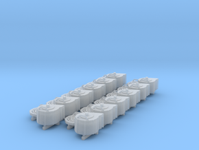 1:35 20mm Spare Magazines in Smooth Fine Detail Plastic