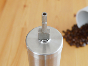 Coffee Grinder Bit For Drill Driver CDS-L in Stainless Steel