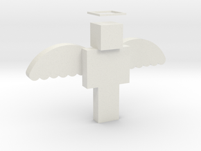 Minecraft Angel in White Strong & Flexible