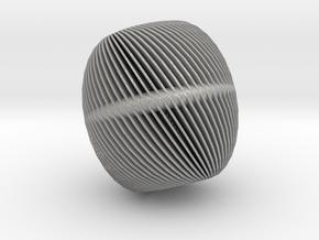 Steel Apple in Aluminum