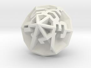 Diamond D12 in White Strong & Flexible