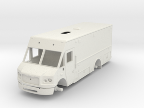 Philadelphia Support Truck 1/25 in White Natural Versatile Plastic