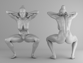 Fitness Girl 010 Scale 1/10 in White Strong & Flexible