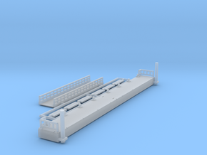 Ponton 2.0 - 1:220 (Z scale) in Smooth Fine Detail Plastic