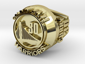 Curry 30  championship ring in 18k Gold