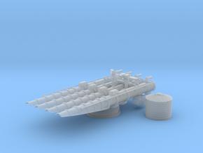 1/72 21in Quadruple Torpedo Tube in Smooth Fine Detail Plastic