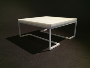 Coffee Table 1-12 in White Natural Versatile Plastic