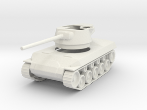 M18 Hellcat 1/87 12Apr2016 in White Natural Versatile Plastic
