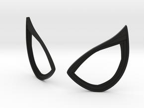 Civil War Spider-Man Static Lens Frames in Black Natural Versatile Plastic