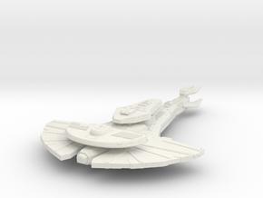 KingGalor Class  BattleCruiser in White Strong & Flexible