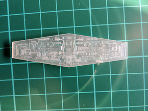 ISD 4222 Bridge Front in Smooth Fine Detail Plastic