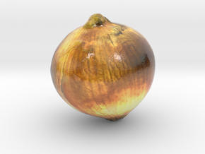 The Onion-mini in Glossy Full Color Sandstone
