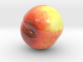 The Peach-mini in Glossy Full Color Sandstone