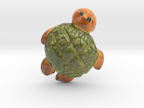The Turtle Bread-mini in Glossy Full Color Sandstone