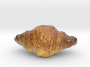 The Croissant-mini in Glossy Full Color Sandstone