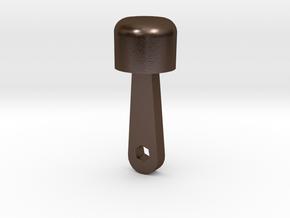 Piston 1 in Polished Bronze Steel