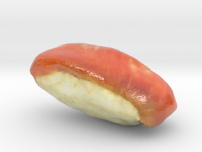 The Sushi of Salmon-mini in Glossy Full Color Sandstone