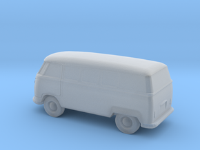 VW Bus - 1:148scale in Smooth Fine Detail Plastic
