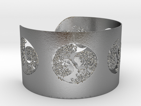 Celtic Tree Of Life Bracelet Ø2,48 inch/Ø63 mm Ful in Natural Silver