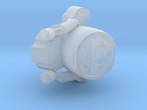 Marine Sci-Fi Jetpack  in Smooth Fine Detail Plastic