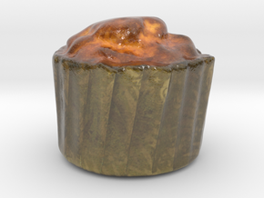 The Muffin-mini in Glossy Full Color Sandstone