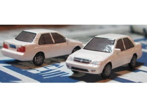 N Scale 2006-2009 Changan Suzuki Lingyang (Swift) in Frosted Ultra Detail