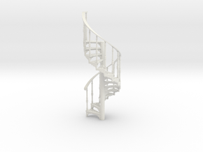 S-43-spiral-stairs-market-1a in White Strong & Flexible