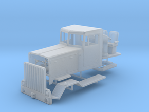 1/50th Peterbilt 387 Heavy Truck Cab in Smooth Fine Detail Plastic