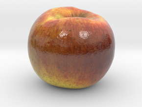 The Apple-3-mini in Glossy Full Color Sandstone