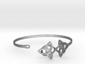 Bracelet V4 20150123 in Fine Detail Polished Silver