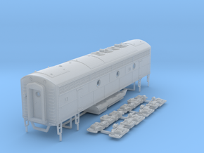 TT Scale F7B in Smooth Fine Detail Plastic