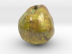 The Pear-2-mini in Glossy Full Color Sandstone