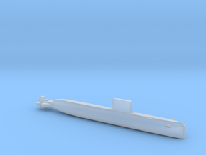 USS Nautilus (SSN-571), Full Hull, 1/2400 in Smooth Fine Detail Plastic