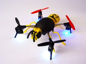 """wasp case"" for the Micro Drone 3.0 in Yellow Processed Versatile Plastic"