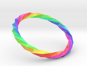 Twistium - Bracelet P=160mm Color in Glossy Full Color Sandstone