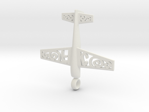 Stickxtra Pendant Flying Circus Special 60mm in White Natural Versatile Plastic