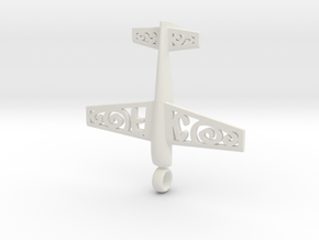 Stickxtra Pendant Flying Circus Special 50mm in White Natural Versatile Plastic