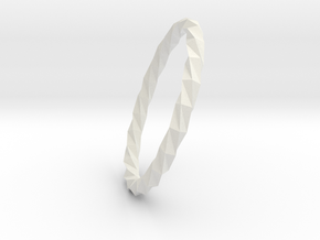 Twistium - Bracelet P=200mm Color in White Natural Versatile Plastic