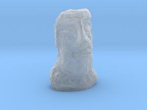 N Gauge Moai Head (Easter Island head) in Smooth Fine Detail Plastic