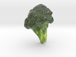 The Broccoli-mini in Glossy Full Color Sandstone