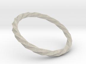 Twistium - Bracelet P=170mm in Natural Sandstone
