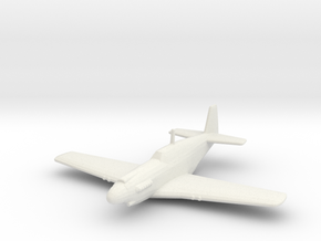 North American A-36 'Apache' in White Natural Versatile Plastic: 1:200
