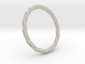 Twistium - Bracelet P=200mm in Natural Sandstone