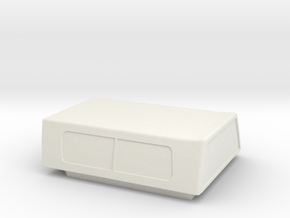 Hotwheels Vw Caddy Cap in White Strong & Flexible