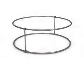 Bracelet in Polished Nickel Steel