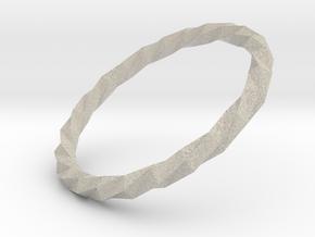 Twistium - Bracelet P=220mm in Natural Sandstone
