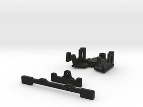 Puente delantero WRS para AM de Black Arrow in Black Natural Versatile Plastic