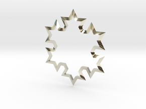 SnowFlake in 14k White Gold