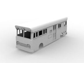 NSWR Paybus Second Series(HO/1:87 Scale) in White Natural Versatile Plastic