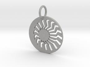 Creator Keychain in Raw Aluminum